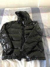 Quilted Puffer Jacket Black Size 4/Large
