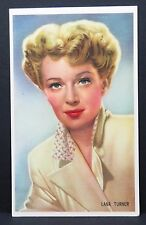 Lana Turner - AK - Foto Autogramm-Karte - Photo Postcard ( G-3248