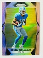 2017 Panini Prizm Kenny Golladay SILVER Prizm Card #283, Lions Star Rookie!