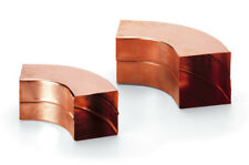 10 pcs elbow for rain 90 ° model painting material copper 80 x 80 mm elbows