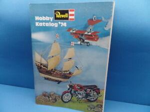 """Revell-Katalog (1974): Revell-Modelle 1974 """" (87 Seiten in Farbe)"""