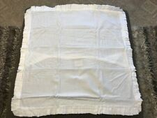 "Mary Jane's Home Euro Sham 26""x26"" White"