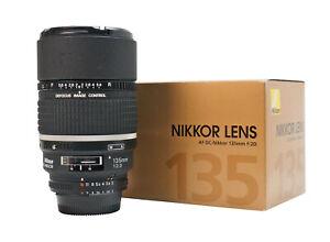 Nikon AF DC-Nikkor 135mm f/2 D Lens