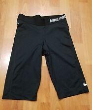 nike pro black cycling pants men size s