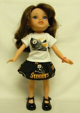 Pittsburgh Steelers Outfit For 14.5 Inch Doll