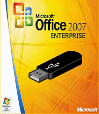 Microsoft Office 2007 Licence 1 PC + USB Flash Drive