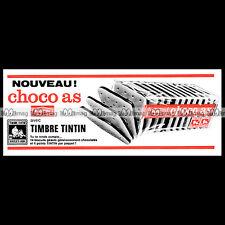 PAREIN Biscuits CHOCO AS & Timbres Tintin - 1969 Pub / Publicité / Ad #E28