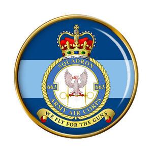 663 Squadron AAC, British Army Pin Badge