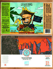 Rare Micro Beer Labels Lead Dog Touchstone !