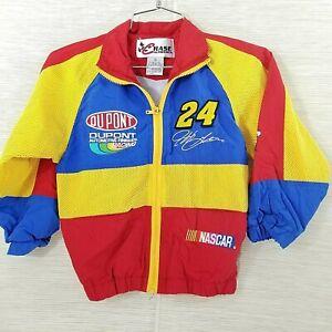 Chase Authentics Jeff Gordon #24 NASCAR  Youth Size 6 Dupont Jacket Lined
