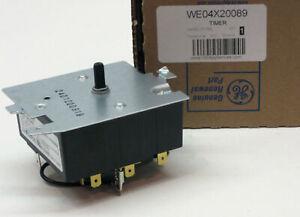 WE04X20089 GE General Electric Dryer Control Timer OEM AP3994848 PS1517731