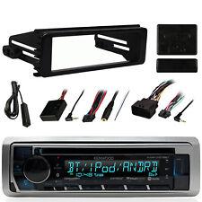 Marine Bluetooth AUX CD Radio,98-2013 Harley Install CD Dash Kit Install Adapter