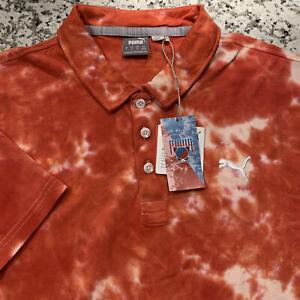 NEW Men's PUMA Golf Polo Shirt Sz L