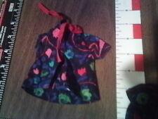 Barbie homemade print navy blue 3pc vest blouse shirt ? Found w/vty barbie items