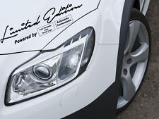 Limited Edition Pegatina Sticker Sport Mind auto marca automóvil deseo logotipo/marca camiones