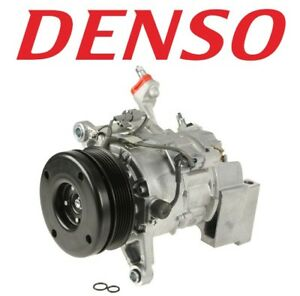For A/C Compressor and Clutch Denso 471-1361 for Lexus IS300 3.0 L6 2001-2005
