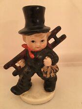 Goebel KF 38 Little Boy Chimmey Sweep Figurine West Germany CUTE! Old 1933