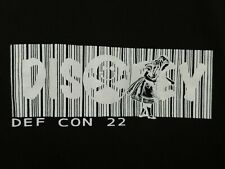 DEFCON Hacker Conference Official DEFCON 22 DISOBEY T-Shirt- XL