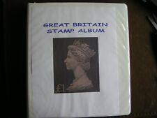 Great Britain Album from 1840-1976 Mnh/U