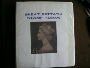 Great Britain Album from 1840-1976 MNH/U