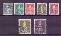 Berlin 1949 - UPU Stephan - MiNr. 35/41 rund gestempelt - Michel 320,00 € (339)