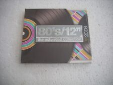 "80's / 12"" THE EXTENDED COLLECTION / VARIOUS ARTISTS  USA 2CD NEW"