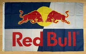 Red Bull Energy Drink 3x5 ft Flag Promo Banner