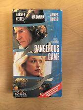 Dangerous Game Motion Picture VHS Promo Version Harvey Keitel Madonna 1993 Drama