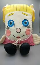 Vintage Full Size Sweet Dreams Pillow People 1985 Girl Plush Big Doll 80s