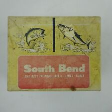 Vintage South Bend Spin Cast 99 Reel Box and Booklet only