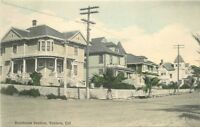 C-1910 Residence Section Ventura California hand colored postcard 9134