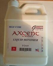 Garreco Axcent Self Cure Liquid Monomer For Dental Lab Acrylic Quart (32 fl oz)