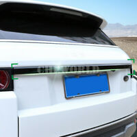 Schwarz Kofferraum Hintertür Schutzleisten Zierleisten Für Range Rover Evoque