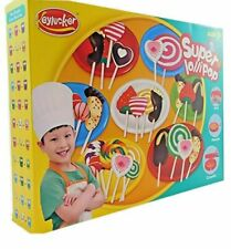 Allkindathings Play Dough Doh Super Lollipops Plasticine Set With Chef's Outfit
