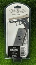 Walther OEM Factory Magazine 9mm 8 Round fits Walther CCP, Black - 50860002