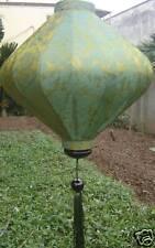 Lampion Seide lampen (Grün)
