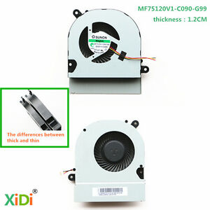 SUNON MF75120V1-C090-G99 Cpu Cooling Fan ASUS K45VS