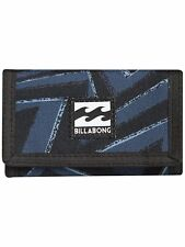 BILLABONG MENS WALLET.ATOM TRIFOLD HOOK LOOP CREDIT CARD MONEY PURSE 8S WL01 19