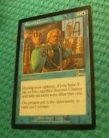 1x Second Chance, MP, Urza's Legacy, EDH Commander Extra Turns Blue Enchantment