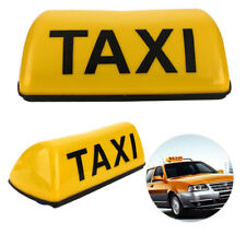 12V 11inch Taxi Cab Sign Roof Top Topper Waterproof Car Magnetic Sign Lamp Light