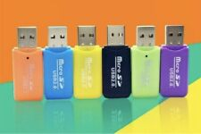 USB READER  Adapter 2.0.  LOT OF 12 PIECES.                 Micro Sd