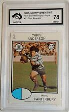 Canterbury Bulldogs 1975 Rugby League (NRL) Trading Cards