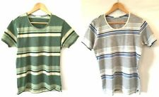 Cotton Striped T-Shirts for Men with Multipack