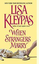 When Strangers Marry (Avon Historical Romance)-ExLibrary