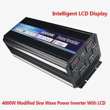 4000W / 8000W Power Inverter Modified Sine Wave DC 12V to AC240V LED AU Socket