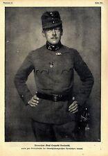 Rittmeister Graf Leopold Berchtold zum Oberhofmeister ernannt 1916