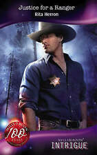 """""""VERY GOOD"""" Justice for a Ranger (Mills & Boon Intrigue), Herron, Rita, Book"""
