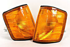 Mercedes 190 W201 1982-1993 Amber Corner Lights Turn Signals PAIR OEM