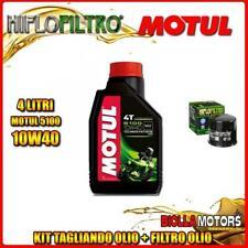 KIT TAGLIANDO 4LT OLIO MOTUL 5100 10W40 SUZUKI VL800 K1,K2,K3,K4 Intruder LC Vol
