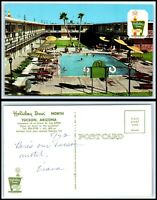 "ARIZONA Postcard Tucson, Holiday Inn ""North"" K51"